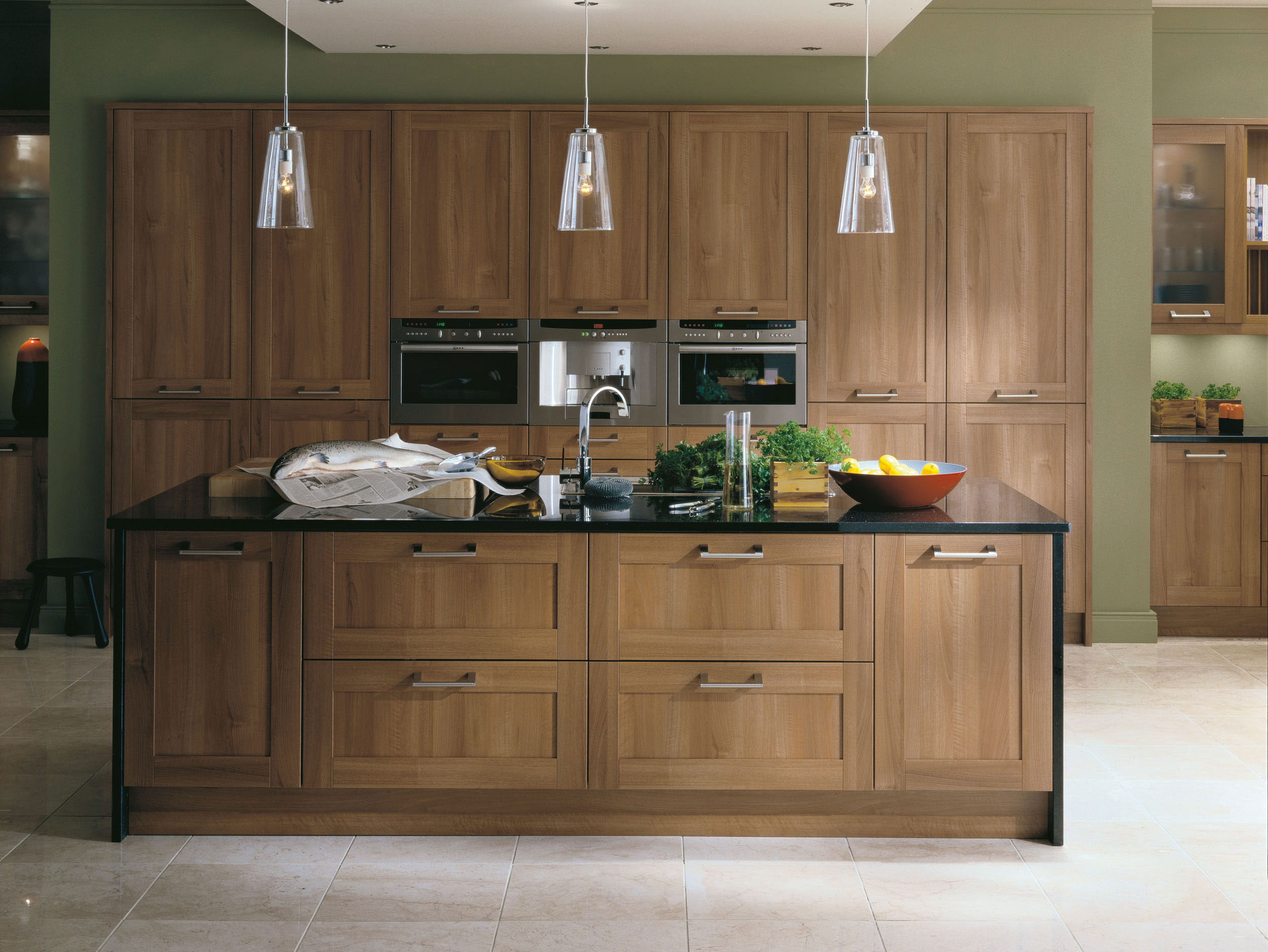 Walnut-Kitchen-Cabinet-Ideas